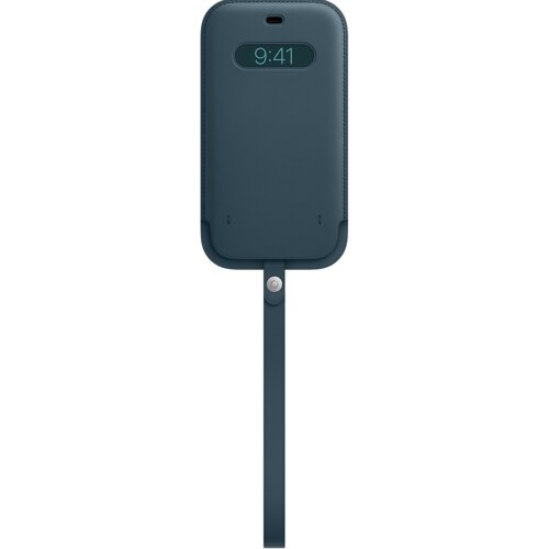Etui Leather APPLE z MagSafe do Apple iPhone 12 Pro Max Bałtycki błękit