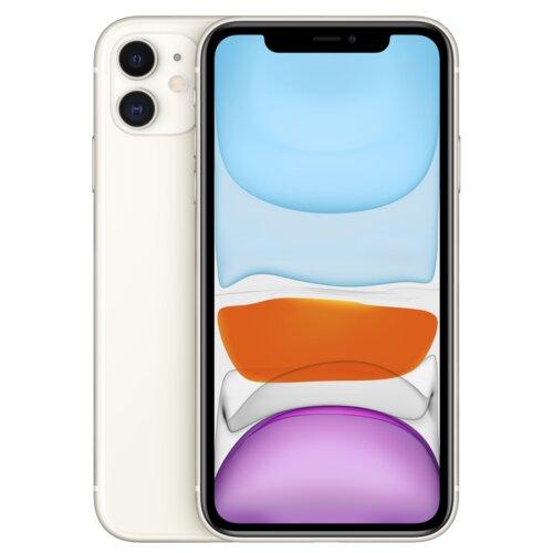"""Smartfon APPLE iPhone 11 64GB 6.1"""" Biały MHDC3PM/A"""
