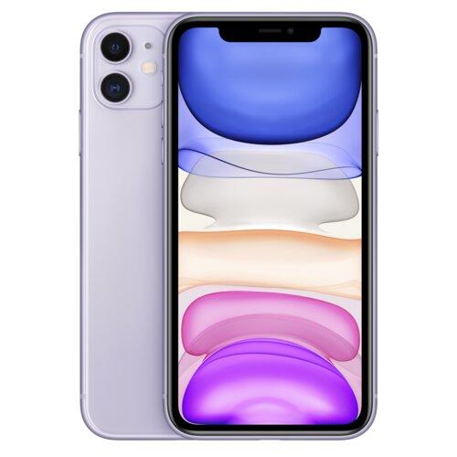 "Smartfon APPLE iPhone 11 64GB 6.1"" Fioletowy MHDF3PM/A"