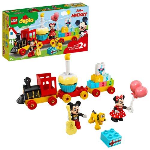 LEGO DUPLO Urodzinowy pociąg myszek Miki i Minnie 10941