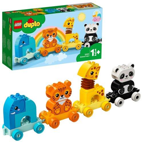LEGO Duplo Pociąg ze zwierzątkami 10955