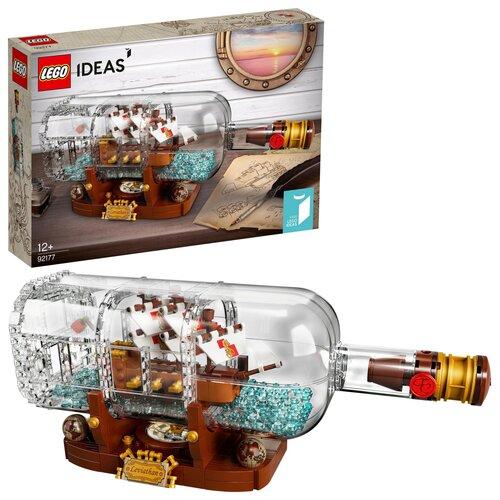 LEGO Ideas Statek w butelce 92177