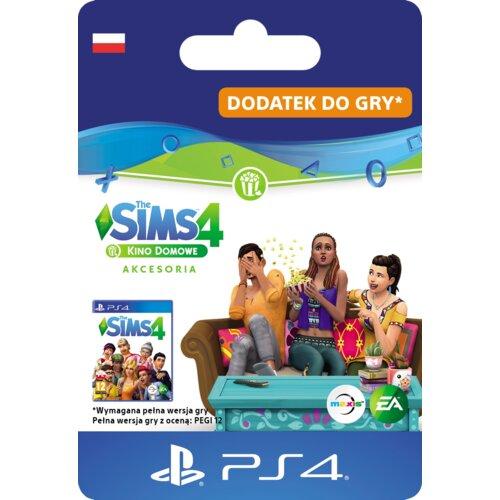 Kod aktywacyjny The Sims 4: Kino domowe akcesoria Gra PS4