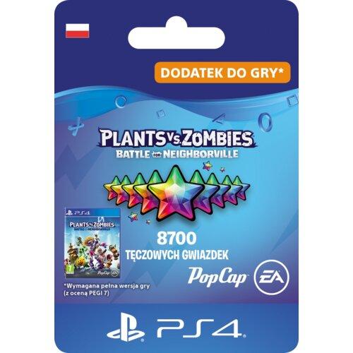 Kod aktywacyjny Plants vs. Zombies: Battle for Neighborville 8700 Tęczowych Gwiazdek