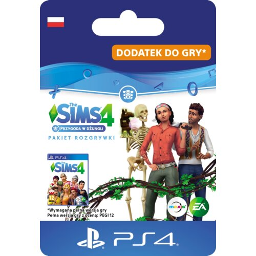 Kod aktywacyjny The Sims 4: Przygoda w dżungli Gra PS4