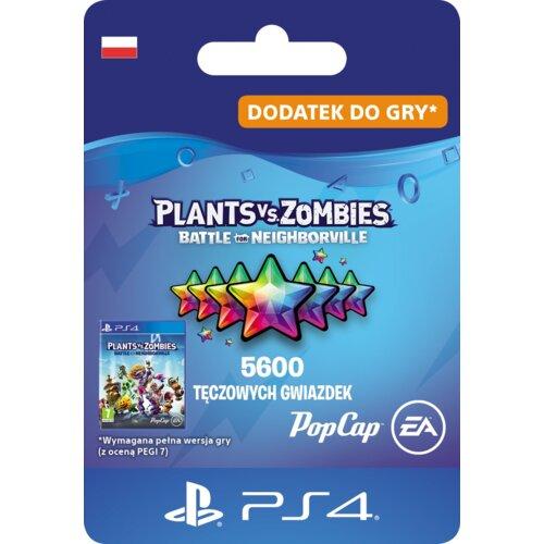 Kod aktywacyjny Plants vs. Zombies: Battle for Neighborville 5600 Tęczowych Gwiazdek