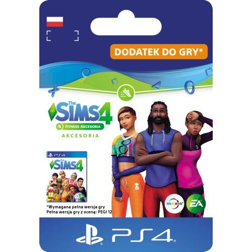 Kod aktywacyjny The Sims 4: Fitness akcesoria Gra PS4
