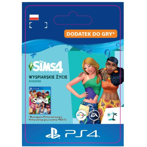 Kod aktywacyjny The Sims 4: Wyspiarskie życie Gra PS4