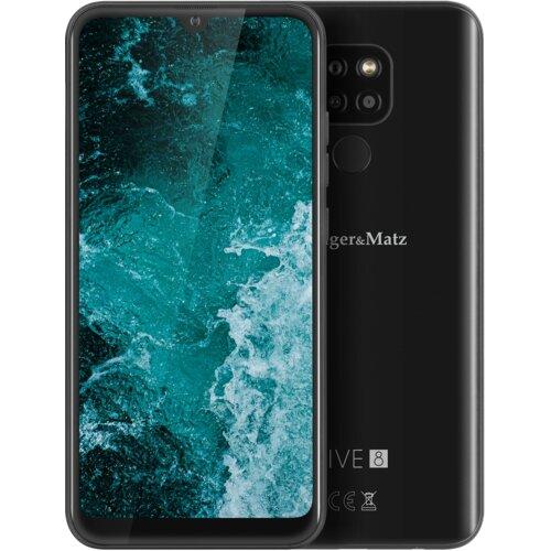 "Smartfon KRUGER&MATZ Live 8 3/64GB 6.08"" Czarny KM0494-B"