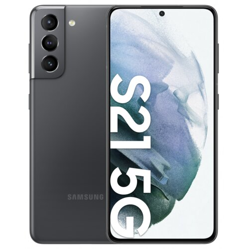 "Smartfon SAMSUNG Galaxy S21 8/256GB 5G 6.2"" 120Hz Szary SM-G991"