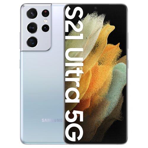 "Smartfon SAMSUNG Galaxy S21 Ultra 12/128GB 5G 6.8"" 120Hz Srebrny SM-G998"