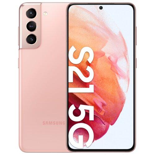 """Smartfon SAMSUNG Galaxy S21 8/256GB 5G 6.2"""" 120Hz Różowy SM-G991"""