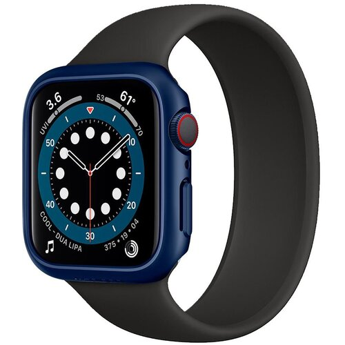 Etui SPIGEN Thin Fit do Apple Watch 4/5/6/SE (40 mm) Niebieski