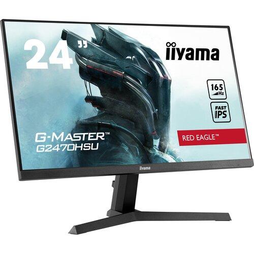 "Monitor IIYAMA G-Master G2470HSU 24"" 1920x1080px IPS 165Hz 0.8 ms"