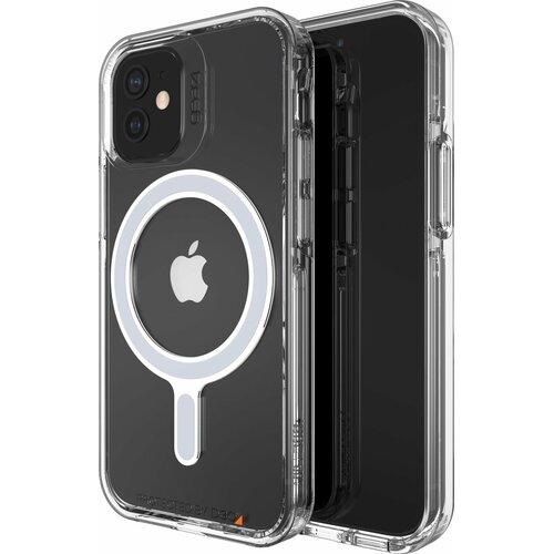 Etui GEAR4 Crystal Palace Snap MagSafe do Apple iPhone 12 Mini Przezroczysty