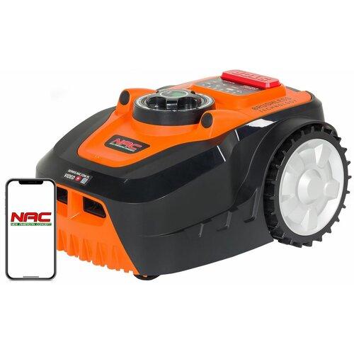 Robot koszący NAC RLM800-DY sterowanie Bluetooth
