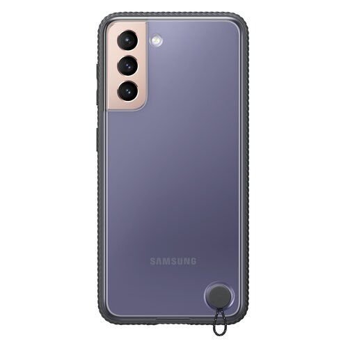 Etui SAMSUNG Clear Protective Cover do Galaxy S21 EF-GG991CBEGWW Czarny