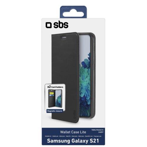 Etui SBS Book Wallet Lite do Samsung Galaxy S21 Czarny