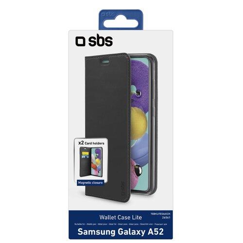 Etui SBS Book Wallet Lite do Samsung Galaxy A52/A52s Czarny