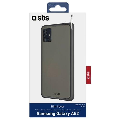 Etui SBS Rim do Samsung Galaxy A52/A52s Czarny