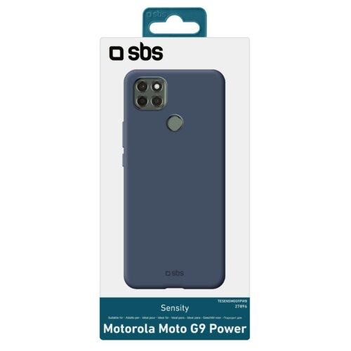 Etui SBS Sensity do Motorola Moto G9 Power Niebieski