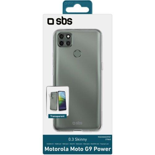 Etui SBS Skinny Cover do Motorola Moto G9 Power Transparentny