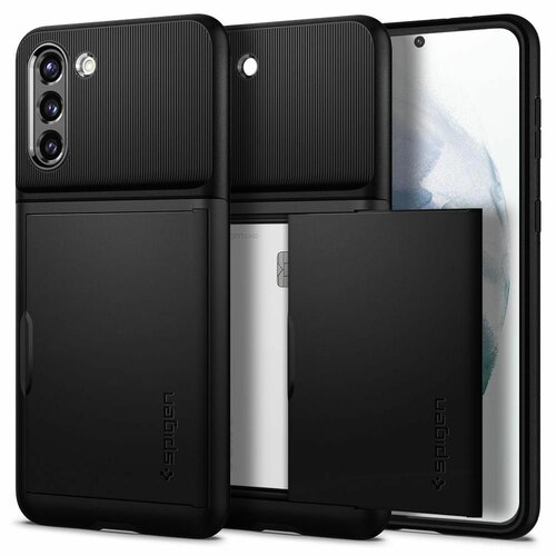 Etui SPIGEN Slim Armor Cs do Samsung Galaxy S21 Czarny