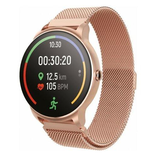 Smartwatch FOREVER Forevive 2 SB-330 Różowe złoto