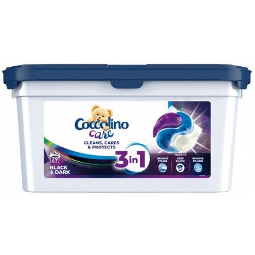 Kapsułki do prania COCCOLINO Care 3 in 1 Black 29 szt.
