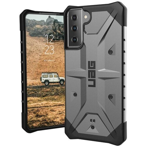 Etui UAG Pathfinder do Samsung Galaxy S21 5G Czarno-srebrny
