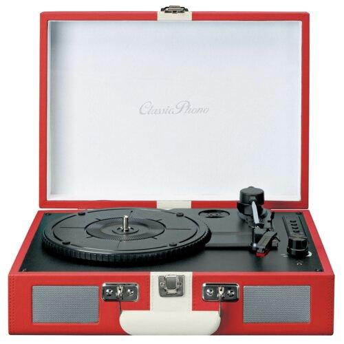 Gramofon LENCO TT-110 Czerwony