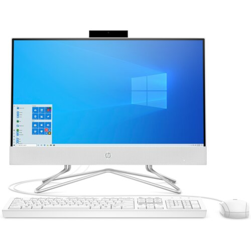 "Komputer HP 22-df0009nw 21.5"" IPS Celeron J4025 4GB SSD 128GB Windows 10 Home"