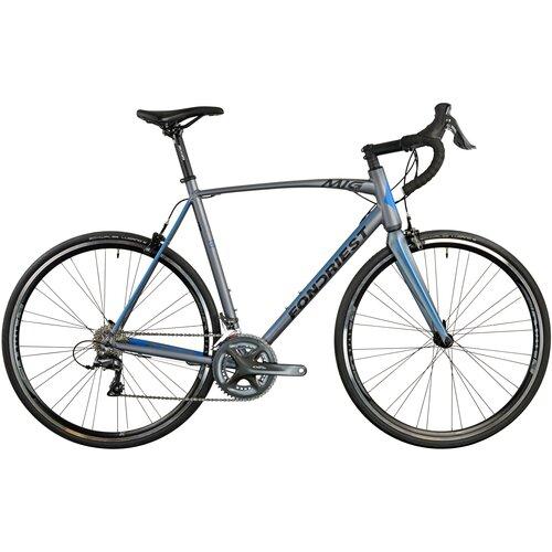 Rower szosowy FONDRIEST MIG 2.0 M21 28 cali męski Grafitowo-niebieski