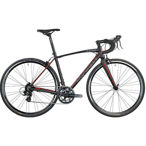 Rower szosowy FONDRIEST MIG 1.0 M24 28 cali męski Czarno-czerwony