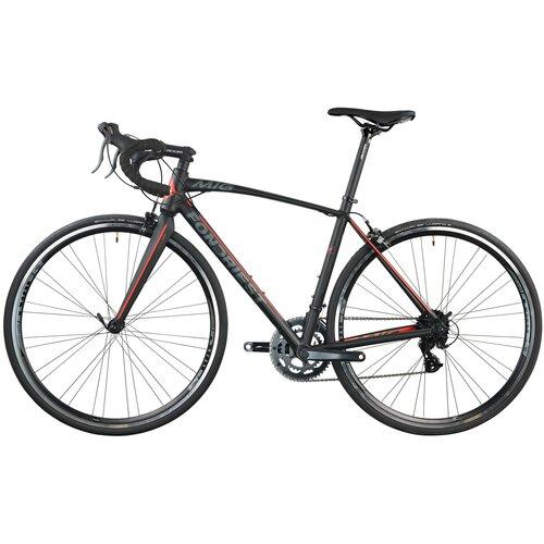 Rower szosowy FONDRIEST MIG 1.0 M20 28 cali męski Czarno-czerwony