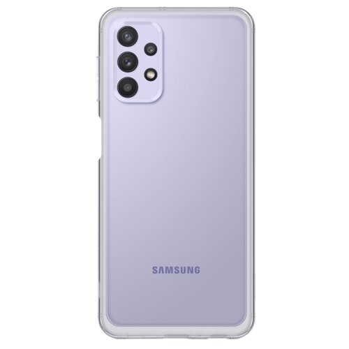 Etui SAMSUNG Soft Clear Cover do Galaxy A32 5G EF-QA326TTEGEU Przezroczysty