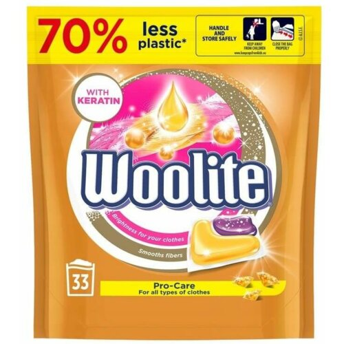 Kapsułki do prania WOOLITE Pro-Care 33 szt.