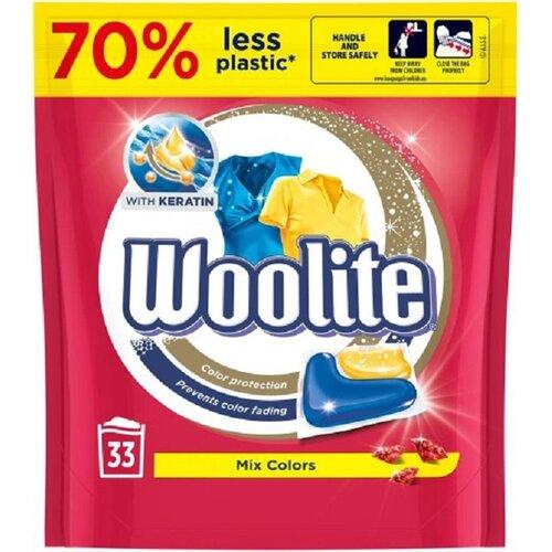 Kapsułki do prania WOOLITE Mix Colors 33 szt.