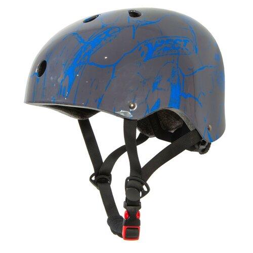 Kask rowerowy BEST SPORTING Skate Szaro-niebieski dla dzieci (rozmiar M)