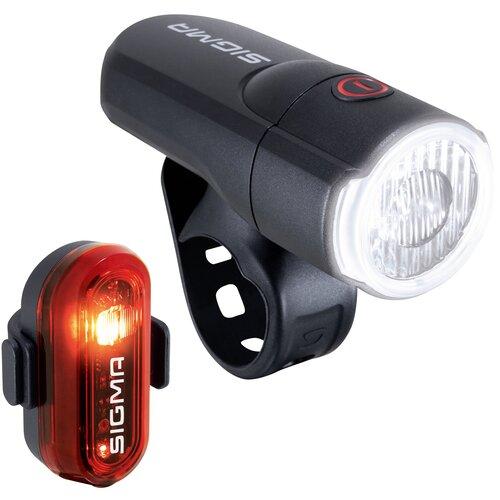 Zestaw lampek rowerowych SIGMA Aura 30 + Curve