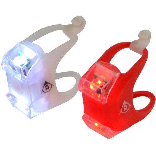 Zestaw lampek rowerowych DUNLOP 417929