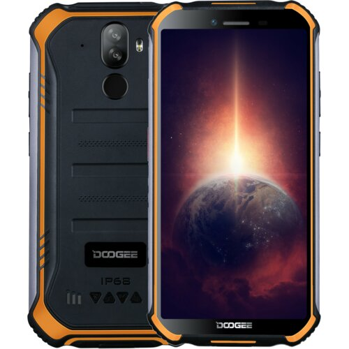 """Smartfon DOOGEE S40 Pro 4/64GB 5.45"""" Pomarańczowy"""