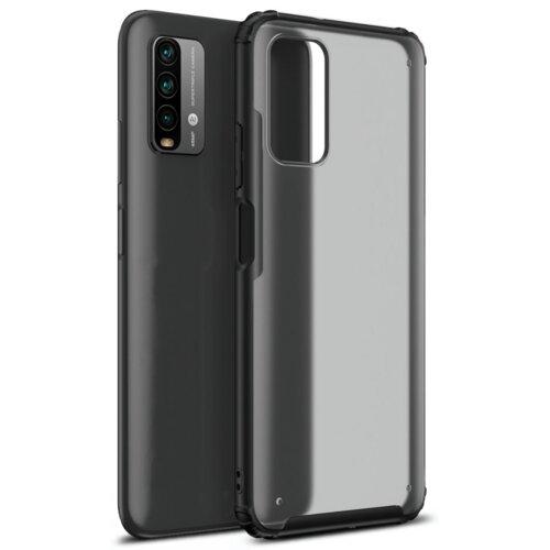 Etui TECH-PROTECT HybridShell do Xiaomi Poco M3 Przezroczysty-Czarny