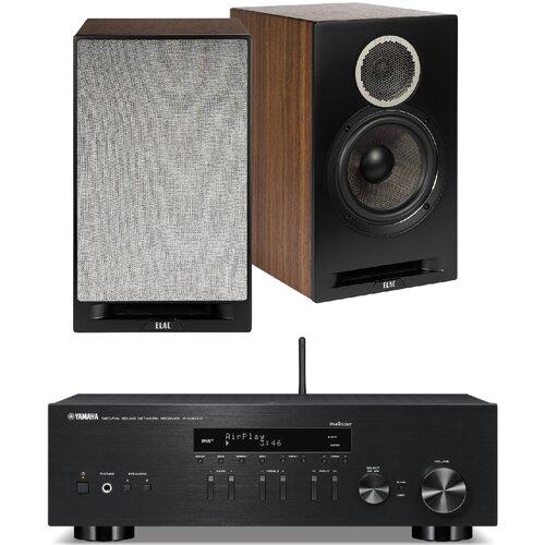 Zestaw stereo YAMAHA R-N303D B + ELAC Debut Reference DBR B6 Czarny
