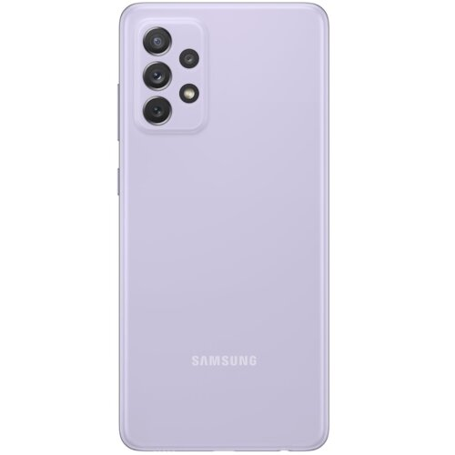 Etui SAMSUNG Silicone Cover do Galaxy A72 Fioletowy