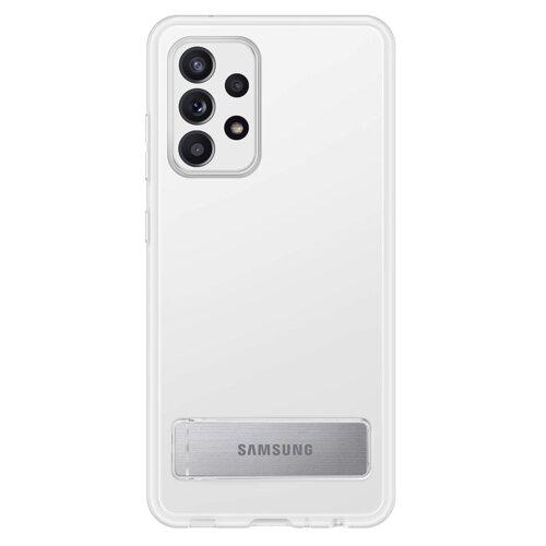Etui SAMSUNG Clear Standing Cover do Galaxy A52/A52s Przezroczysty