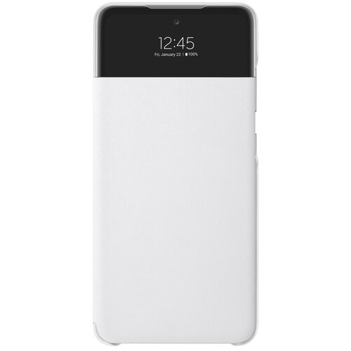 Etui SAMSUNG S View Wallet Cover do Galaxy A52/A52s Biały