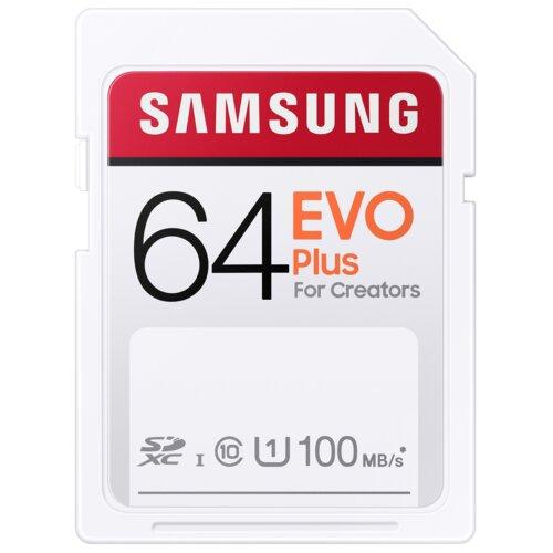 Karta pamięci SAMSUNG Evo Plus SDXC 64GB