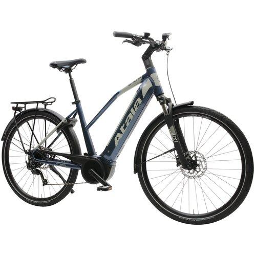 Rower elektryczny ATALA B-Tour A6.1 D20 28 cali damski Granatowo-szary