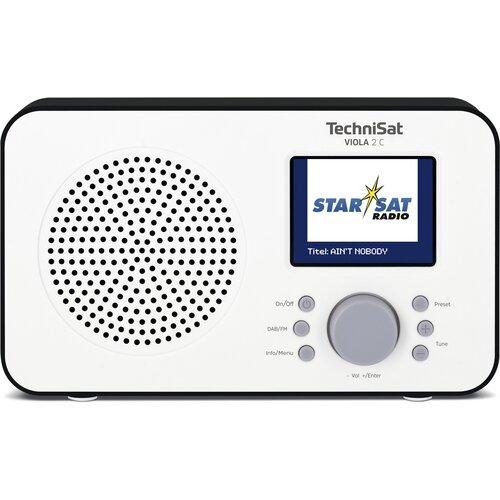 Radio TECHNISAT VIOLA 2 C Biało-czarny